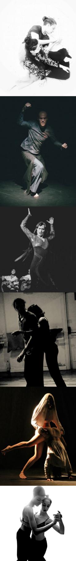 Catalina Mahecha por MANU ARENAS - Jonathan Martineau por RAÚL BARTOLOMÉ - María Keck por FLORENCIA ROVLICH - Jaime Caballero y Clara Pampyn por - Carmen Diéguez y por MIGUEL ÁNGEL GARCÍA - Olaya Aramo y Dari Molina por SOFÍA SILVA